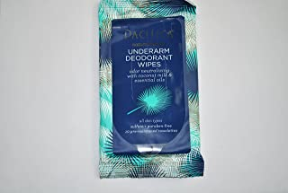 product image for Pacifica Underarm Deodorant Wipes 10 ct