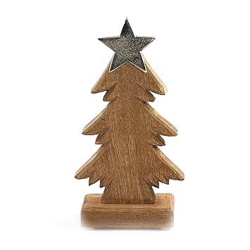 Tannenbaum Groß.Tannenbaum Aus Holz Knuellermarkt24 De Massiv Stern Metall Groß