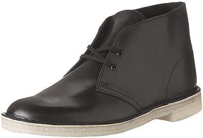 fa819efa0987 CLARKS Men s Desert Chukka Boot Leather Black