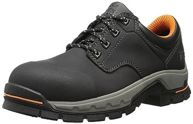 ec7cf598f2aca3 Timberland PRO Men's Stockdale Grip Max OX Alloy Toe Work and Hunt Boot,  Black Microfiber