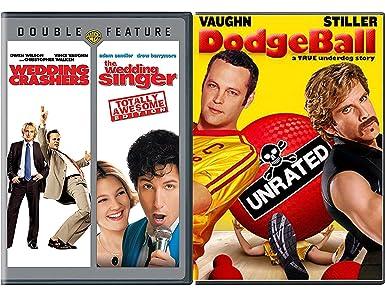 The Wedding Crashers.Amazon Com Dodgeball The Wedding Singer Double Feature Dvd
