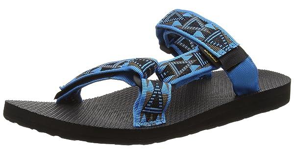 d64837b6b008 Teva Men s Universal Slide Mosaic Blue 13 M