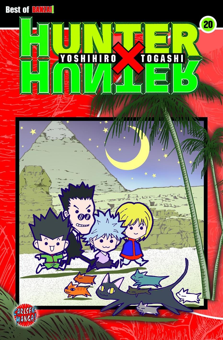 Hunter X Hunter, Band 20 Taschenbuch – 22. August 2008 Yoshihiro Togashi Hiro Yamada Carlsen 3551762309