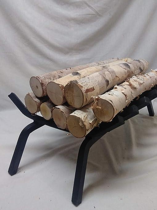 Amazon Com Northern White Birch Logs Set Of 8 Logs Home Kitchen