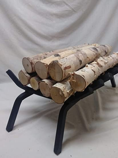 Amazon Com Northern White Birch Logs Set Of 8 Logs Home Kitchen
