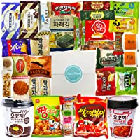 """Journey of Asia """"Seri's Choice KOREAN Snack"""" Box 36 Count Individual Wrapped Essentials Packs of Candy, Snacks, Chips…"""