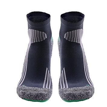 MEIKAN Calcetines De Deporte Coolmax,Athletic Calcetines Cortos Deportivos Profesionales Fast Dry Humedad Anti-Blister Transpirable