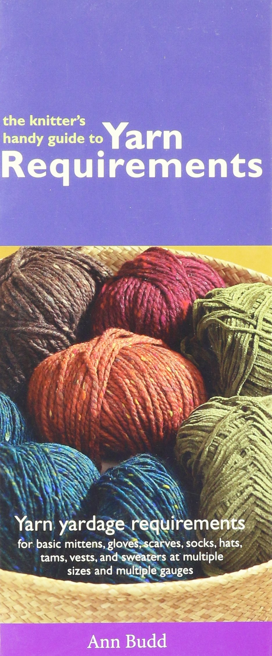 The Knitter's Handy Guide To Yarn Requirements