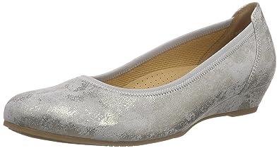 Shoes Damen Comfort Geschlossene Ballerinas, Blau (Nightblue 46), 35 EU (2.5 UK) Gabor