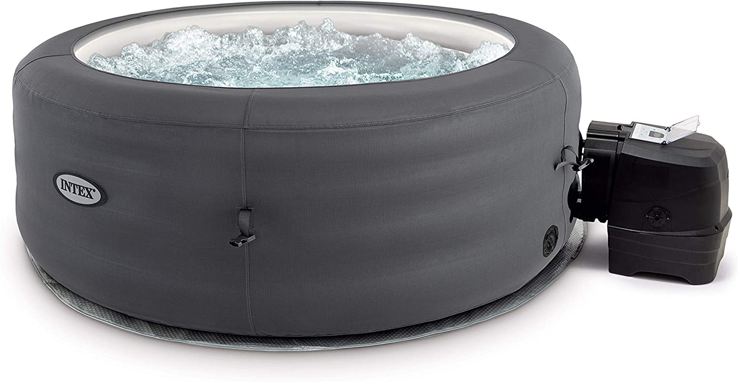 Intex Whirlpool Simple SPA - Ø 196 x 66 cm, für 4 Personen 1