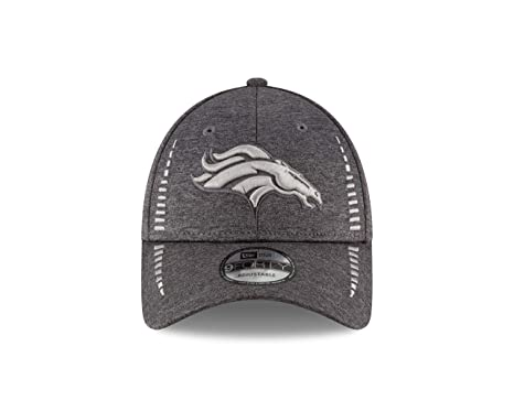 timeless design bdc6d 51ece Image Unavailable. Image not available for. Color  New Era Denver Broncos 9Forty  NFL Graphite Shadow Speed Adjustable Hat