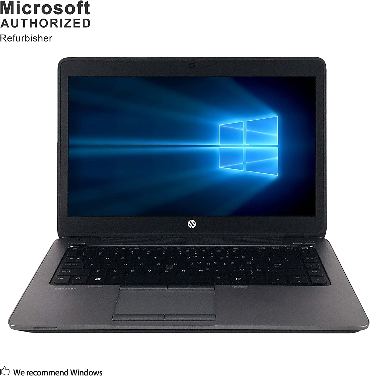 HP ProBook 640 G1 14 Inch Business Laptop PC, Intel Core i5-4200M up to 3.1GHz, 8G DDR3, 512G SSD, WiFi, DVD, VGA, DP, Windows 10 64 Bit Multi-Language Support English/French/Spanish(Renewed)