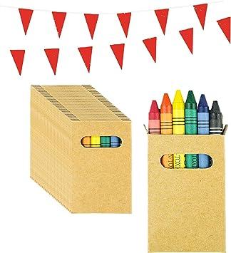 Piñatas de Cumpleaños Infantiles Partituki. 30 Sets de 6 Ceras de ...