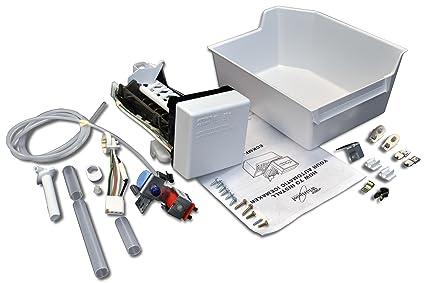 Wiring Diagram For Roper Refrigerator : Amazon whirlpool whirlpool refrigerator ice maker kit