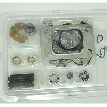 AMSAMOTION Kit de reparación y reparación de Turbo para amsamoción T25 T28 T2 DSM Turbocharger Turbo