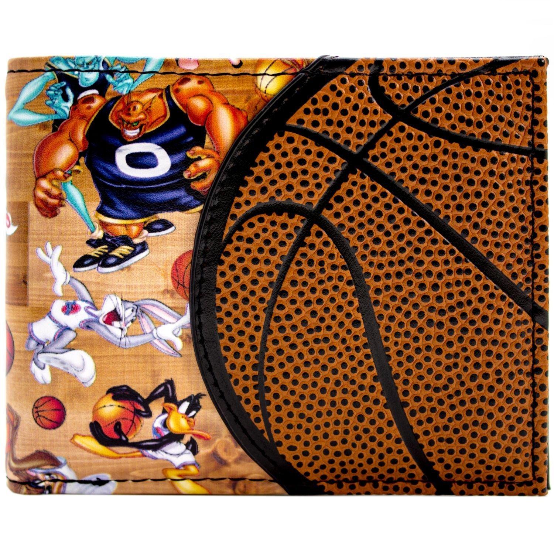 Space Jam pallacanestro Design Aliens & Looney Tunes Marrone Portafoglio 30252