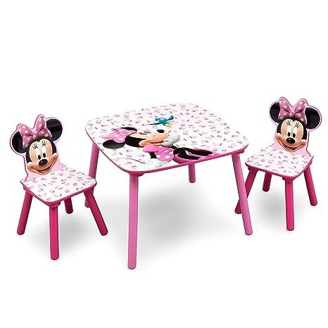 274df70f90 Disney - Set Tavolo con 2 sedie per bambini Minnie Mouse: Amazon.it ...