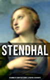 Stendhal: Gesammelte Schriften zu Kunst, Literatur & Geschichte: Napoleon Bonaparte + Über die Liebe (De l'amour) + Geschichte der Malerei in Italien (Cimabue ... + Raffael) + Madame de Staël und viel mehr
