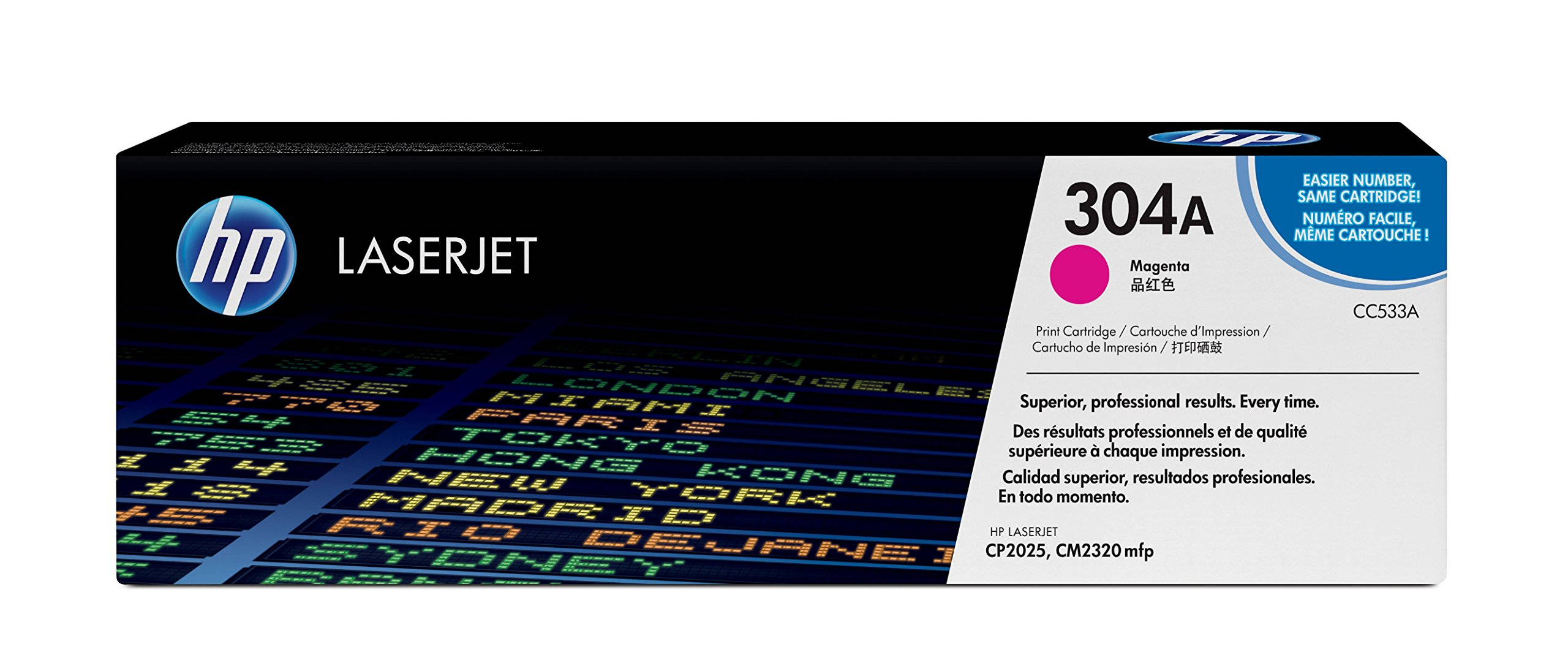 HP 304A (CC533A) Magenta Original Toner Cartridge