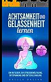 Achtsamkeit und Gelassenheit lernen - Ein Ratgeber zur Stressbewältigung, Entspannung und Entschleunigung: mit Achtsamkeitsübungen für den Alltag (German Edition)