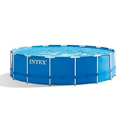 Intex 18ft X 48in Metal Frame Pool Set with Filter Pump