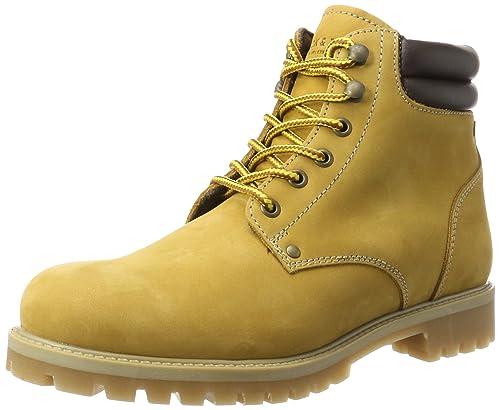 ce0c3978ca0319 JACK   JONES Herren JFWSTOKE Nubuck Boot Honey Klassische Stiefel Gelb