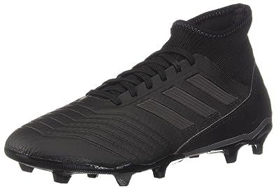 9681aa04c adidas Predator 18.3 Firm Ground Men s Soccer Cleats (7 M US) Black