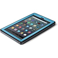 Nupro Heavy Duty Shock-Proof Standing Cover with Screen Protector For Fire 7 Tablet, Twilight Blue