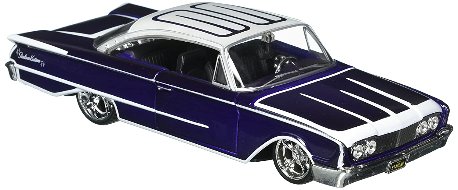 1965 Chevrolet Impala SS 396 Diecast Model Car NIXEU 22417LR-W Welly Collection 1:24 Hot Rider Collection