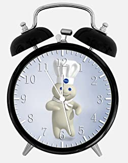 New Pillsbury Doughboy Alarm Desk Clock 3.75