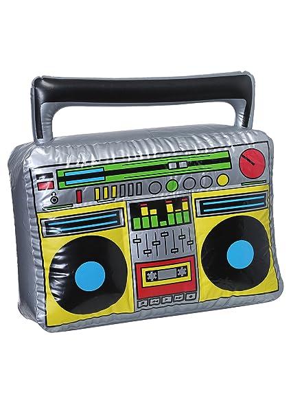 Amazon.com: Hinchable 80s Boombox estándar: Toys & Games