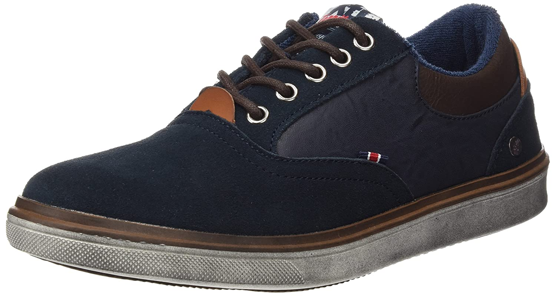 XTI Herren Zapato CRO Serraje Combinado Navy Turnschuhe
