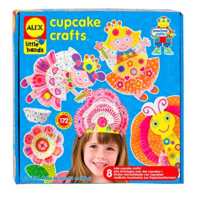 ALEX Toys Little Hands Cupcake Craft: Toys & Games