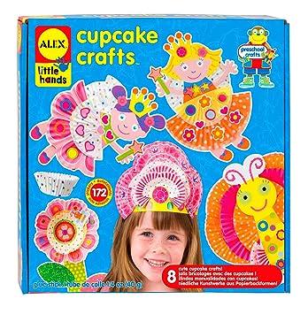 Alex Manualidades con moldes de cupcakes Juratoys 1419: Amazon.es: Juguetes y juegos