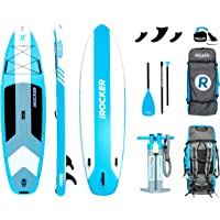 iROCKER CRUISER Inflatable Stand Up Paddle Board 3.2m Long 83cm Wide 15cm Thick SUP Package