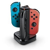 Carregador Quadruplo Joy-Con Bionik - Nintendo Switch (Tetra Power)