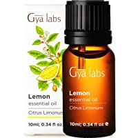Gya Labs Lemon Essential Oil for Skin Care and Mood Lifting - Topical for Oily Skin - Diffuse to Boost Positivity…