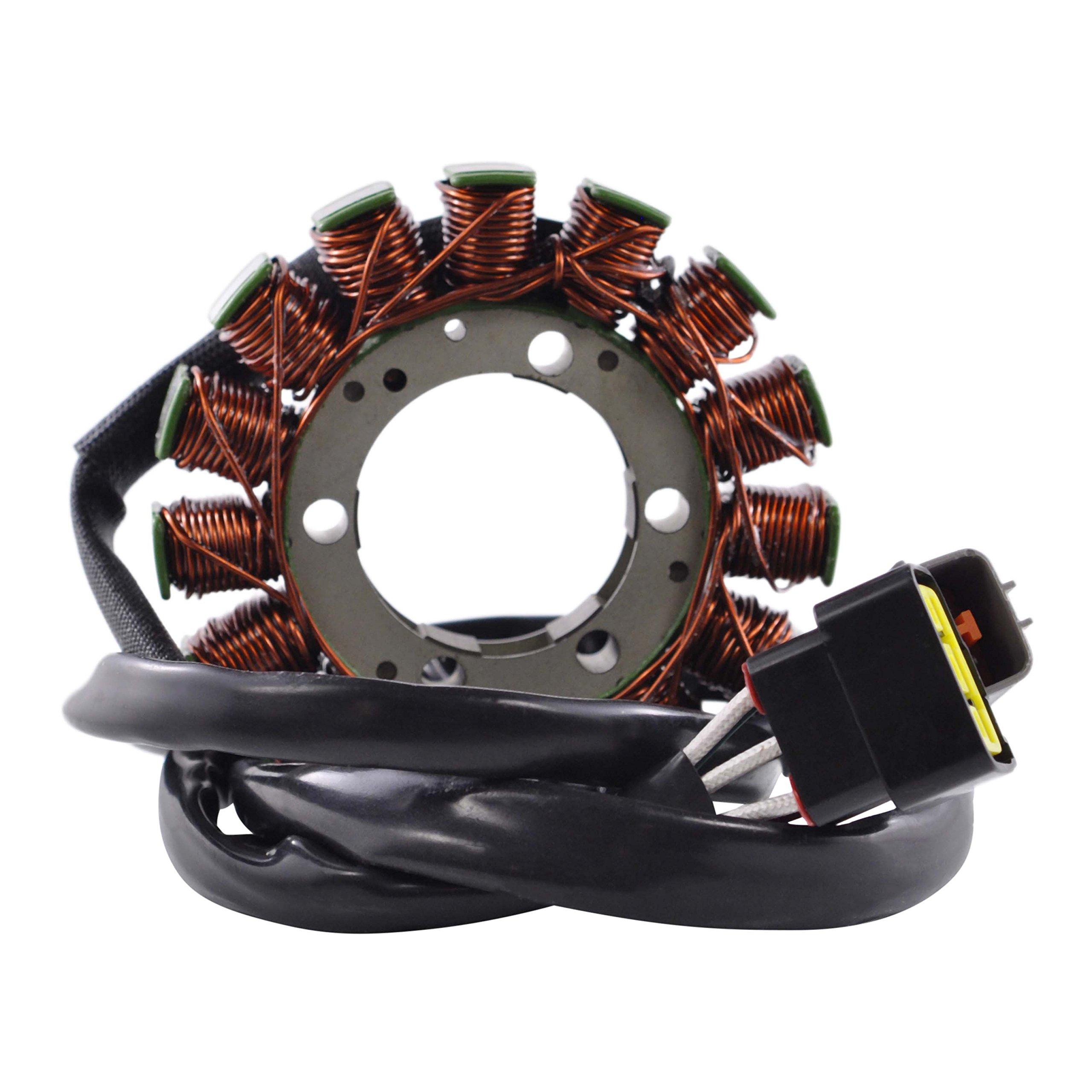 Generator Stator For Kawasaki VN 900 Vulcan 2006 2007 2008 2009 2010 2011 2012 2013 2014 2015 2016 2017 OEM Repl.# 21003-0053 by RMSTATOR