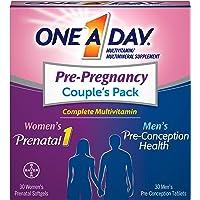 One-A-Day Men's & Women's Pre-Pregnancy Multivitamin Supplement