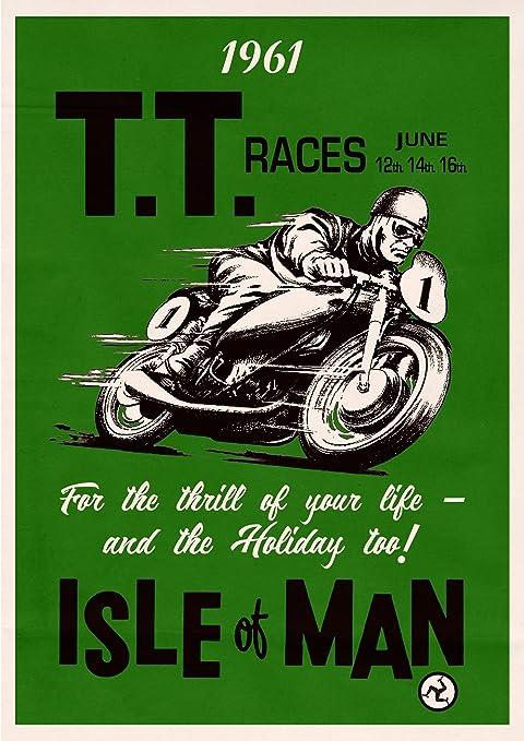 poster De la isla de Man TT