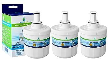 3x AH-S3G filtro de agua compatibles para Samsung nevera DA29 ...