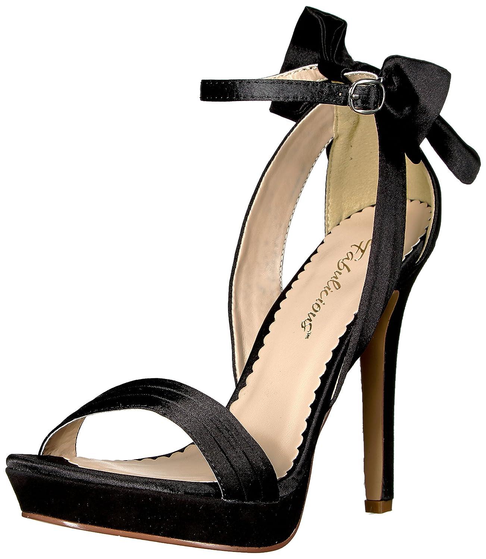 Lumina fabulicious burlesque sexy 25 Satin burlesque plateau 25 high heels femme-satin 35–41–noir Blk Satin 1f28415 - boatplans.space