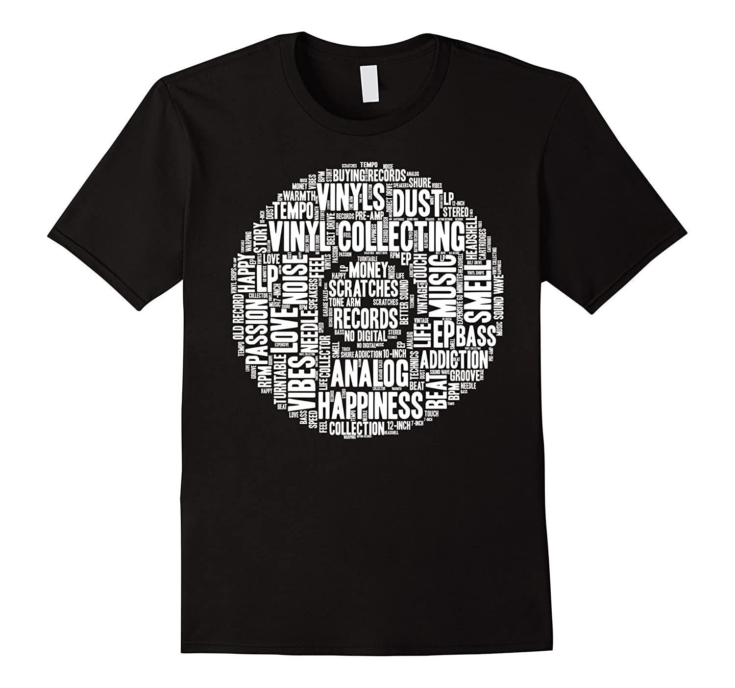 Love Vinyl Shirt Record Collection Turntable Dj Words Gift
