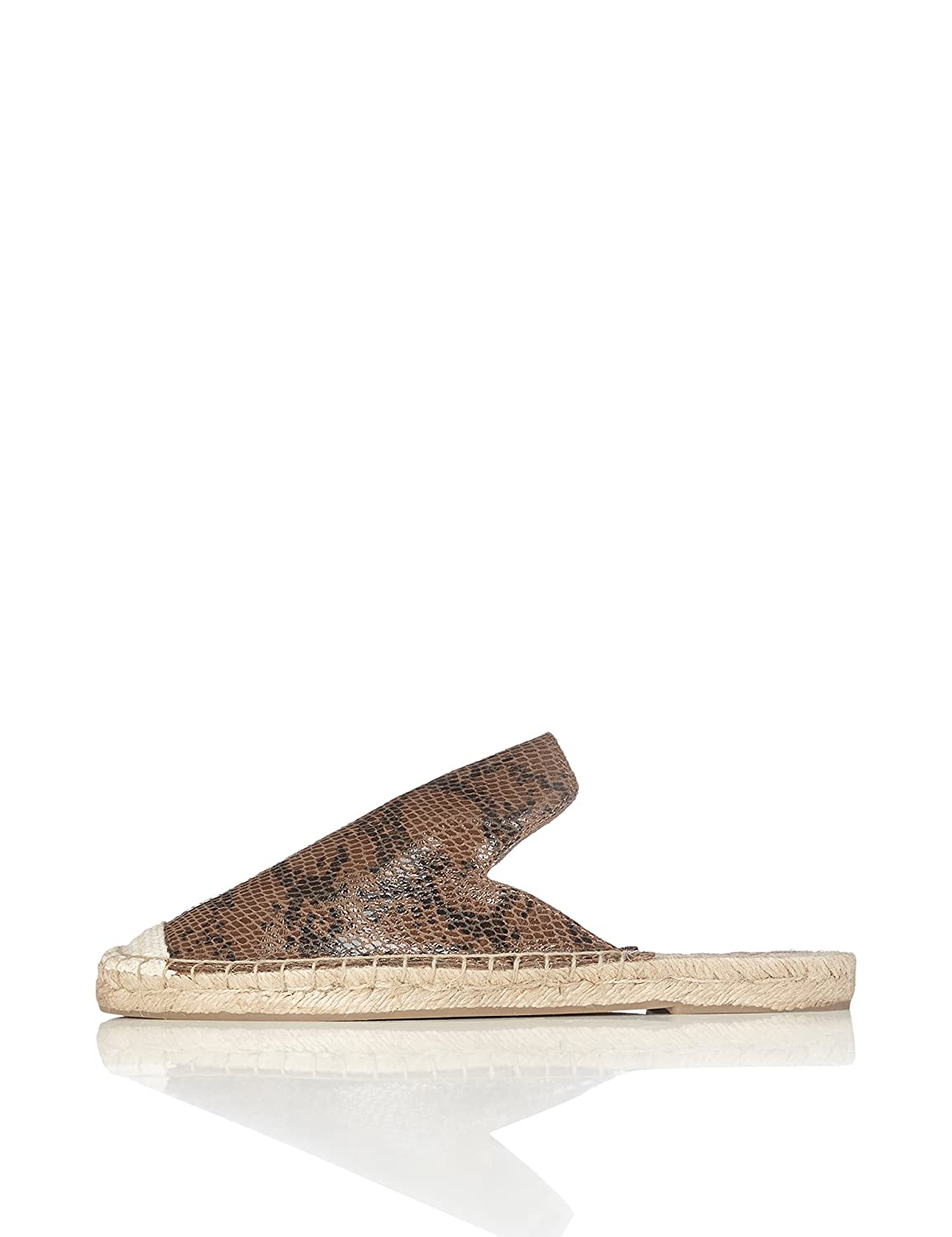 FIND Espadrilles Chaussons Mules Femme