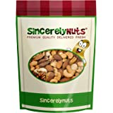 Sincerely Nuts Mixed Nuts Unsalted (No Shell) - Two Lb Bag - Almonds, Cashews, Brazil nuts, Pecans, Filberts, Walnuts, Macadamia Nuts - Utterly Delicious - Overflowing with Healthy Nutrients - Kosher