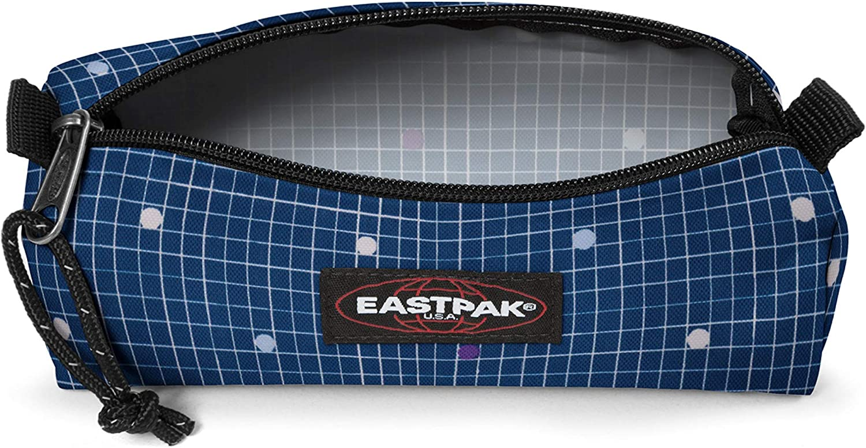 20 cm Blu Little Grid Eastpak BENCHMARK SINGLE Astuccio