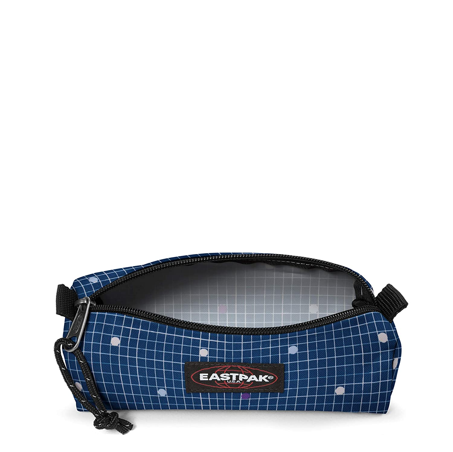 Eastpak BENCHMARK Single Estuches, 20 cm, Azul (Little Grid)