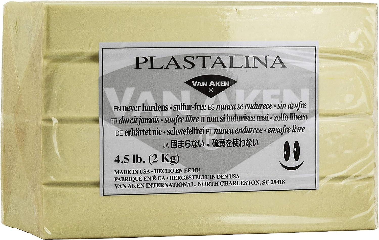 Ivory Van Aken Modeling Clay 4.5 lbs