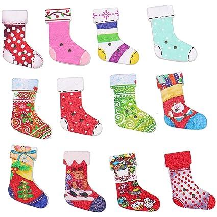 Christmas Shoes Diy.Amazon Com Wssrogy 150 Pcs Multi Color Christmas Shoes