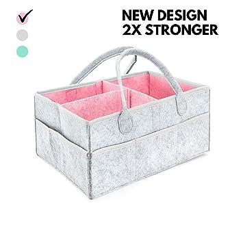 Pañalera CON BOLSO GRATUITO - Compartimientos para guardar pertenencias del bebé | Cesta de regalo para fiesta de nacimiento, Registro de recién ...